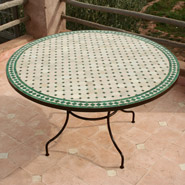 table en zellige ronde